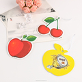 Factory direct popular car hanging air fruit car air freshener