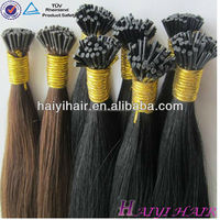 New york virgin russian i tip hair extension