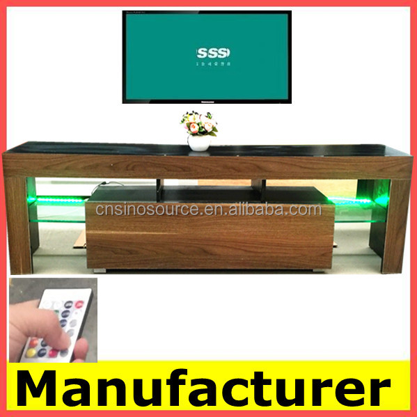 Popular Modern MDF LED TV table/ TVstand Design