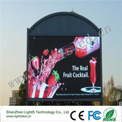 Video Electronic Hookah LED Displays P8 Outdoor Advertising LED Board