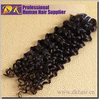 Guangzhou DK hair brand tangle shedding free top grade 7a 100% unprocessed raw remy virgin brazilian hair