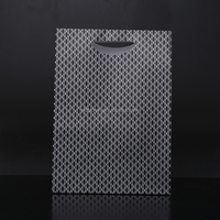 Custom 2016 Cheapest Top Quality luxyry gift paper bag price ,shopping black paper bag, kraft paper bag with handle