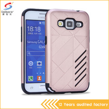 China cheap price 2 in 1 pc+tpu fashion armor cellphone case for samsung galaxy core prime cover g360