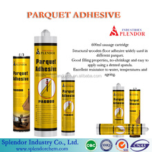 Parquet adhesive, high property adhesive for parquet