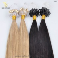 New Golden Best sellers Premuim Quality Italy Keratin micro loop ring hair extension