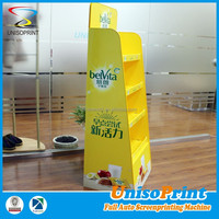 plastic portable merchandise counter display rack