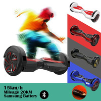 Cheap Stock Scooter 8 Inch High Quality Smart Balance Electric Scooter Hoverboard Electrical Scooter With Bluetooth and Remote