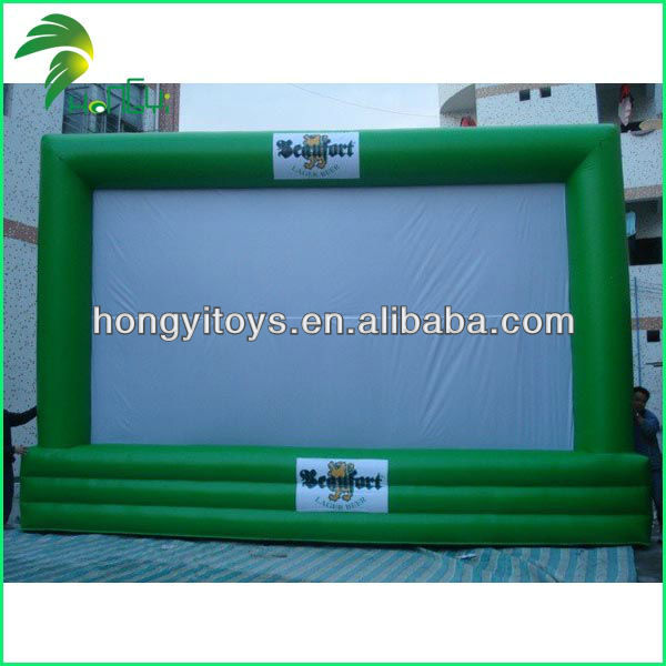 High Quality Inflatable Outdoor Movie Screen Custom Inflatable Screen For Sale