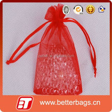 New design style wholesale drawstring personalized organza bags for wedding