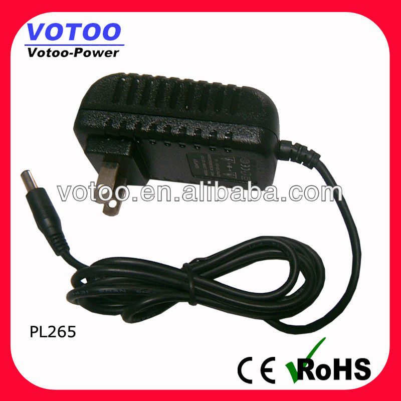 Factory price 5v 2.6a wireless pos machine plug-in power adapter