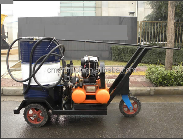China 3.6KW gasoline Sprayer emulsified asphalt spray machine