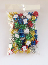 "Decorative Wrap Star Loops Bows in 1.75""*1cm*13loops and Garland Ribbon for Decorations"