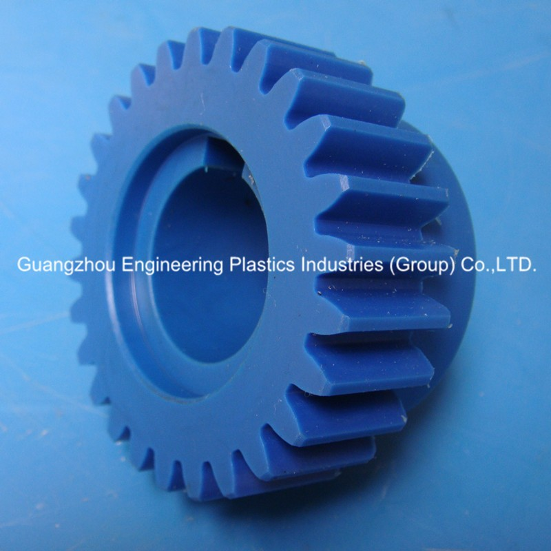 Plastic products manufacture molded high wear resistance PA6 spur gear