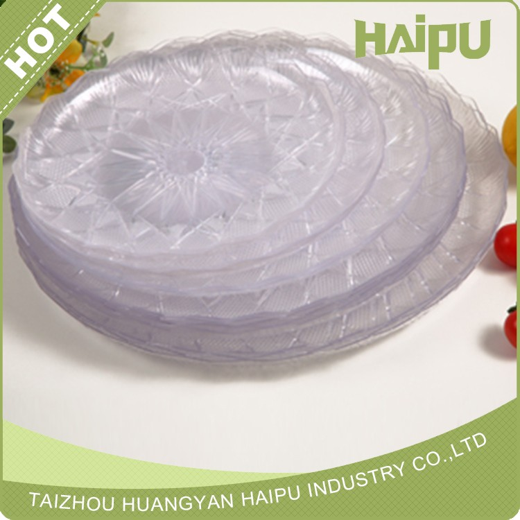 Disposable Crystal Plastic Tray