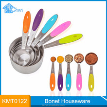 KMT0122 wholesale 10pcs stainless steel measuring cup and spoon set