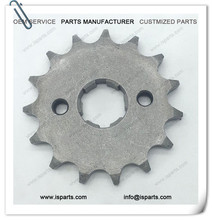 Off Road Motorcycle Drive Parts 15T Tooth 428 Chain Steel Sprocket