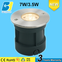 7w small ip68 fountain use dc12v waterproof led light underwater led light for fountain and swimming pool