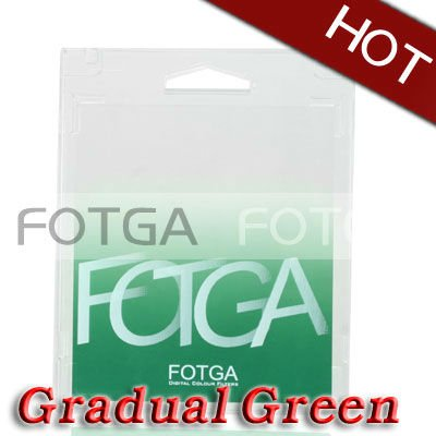 Fotga Square Graduatal Green Color Filter for Cokin P Series/Tian Ya/Green L filter
