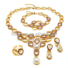 Nigerian american gold jewelry sets sets