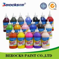 bosny acrylic spray paint/ children acrylic paint wholesale for stationery set