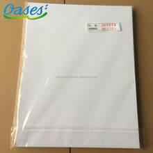 A3 size laser printing pvc material sheet for making cards