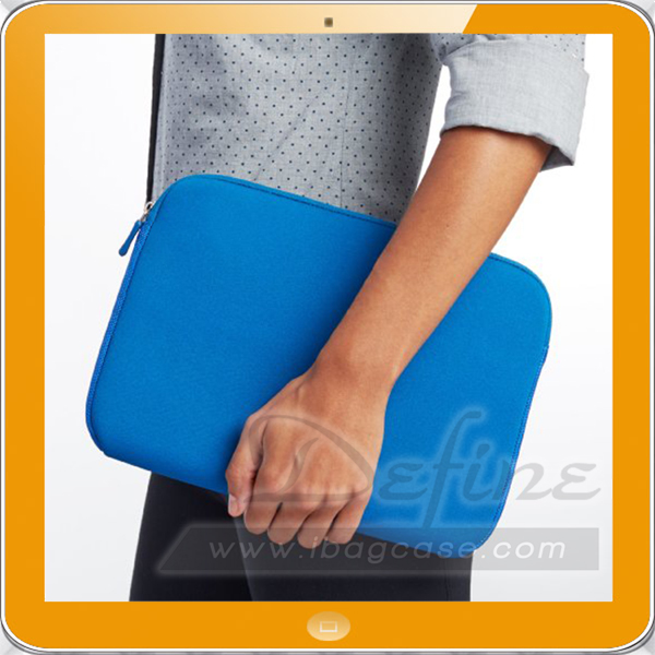 Simple Soft Fabric Carrying neoprene laptop sleeve wholesale