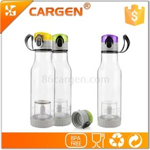 Promotion oem 600ml sport plastic green tea bottle