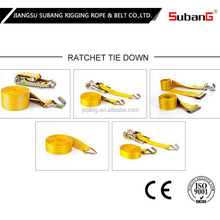 ratchet and strap tie down belts