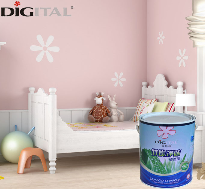 Nano technology fresh smell interior wall paint