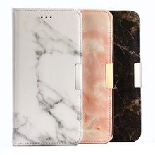 Marble Skin PU Leather Case for Huawei Enjoy 7 Plus, for Huawei Enjoy 7 Plus Flip Wallet Case