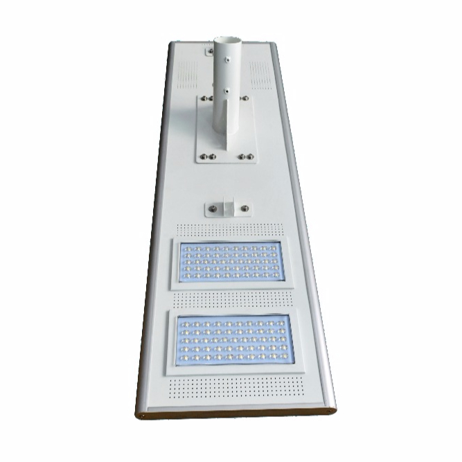 all in one integreated lithium battery solar panel solar street light 110w