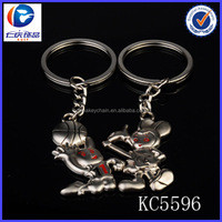 Cute metal mickey mouse keychain 2014 factory customize cheap gifts