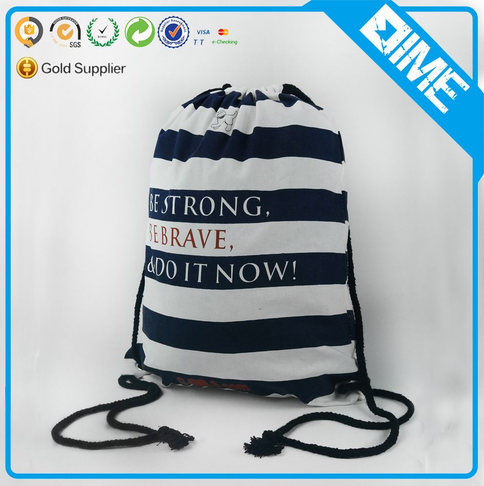 Sublimation Printing Drawstring Bag Gym Sack Drawstring Bag For Teens