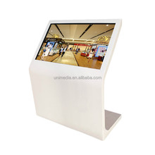 "Shopping mall wifi 42"" horizontal touch screen cell phone charging station kiosk"