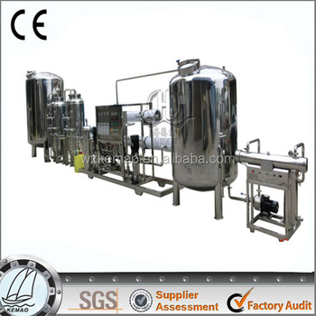Commercial Reverse Osmosis System, large scale water purification system