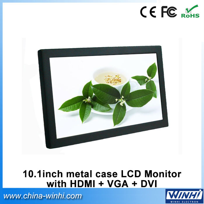 10 inch lcd screen small vga lcd monitor 12v