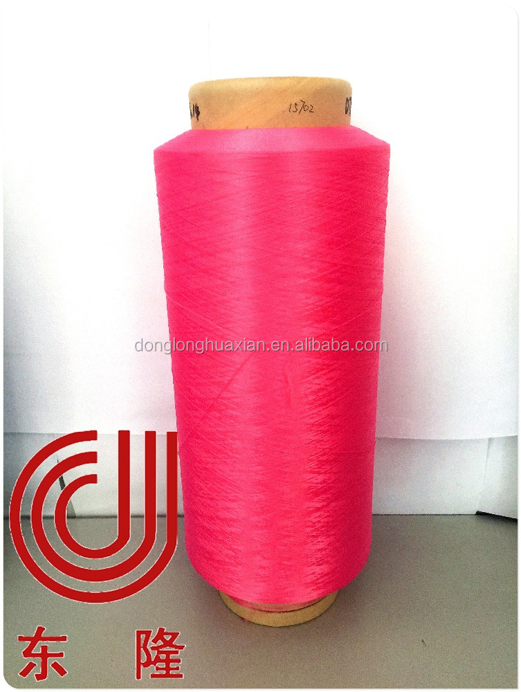Wholesale Bright and Semi Dull 100% Recycled Polyester Yarn from China