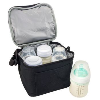 Insulated Breast Milk Storage Breast Milk Baby Bottle Cooler Bag