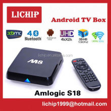 rk3288 quad core android 4.4 4k smart tv box/set top box/mini pc
