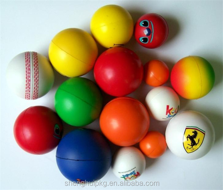 Top quality custom PU stress ball /anti stress PU foam stress ball