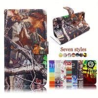 pu wallet case leather back cover for lenovo a706