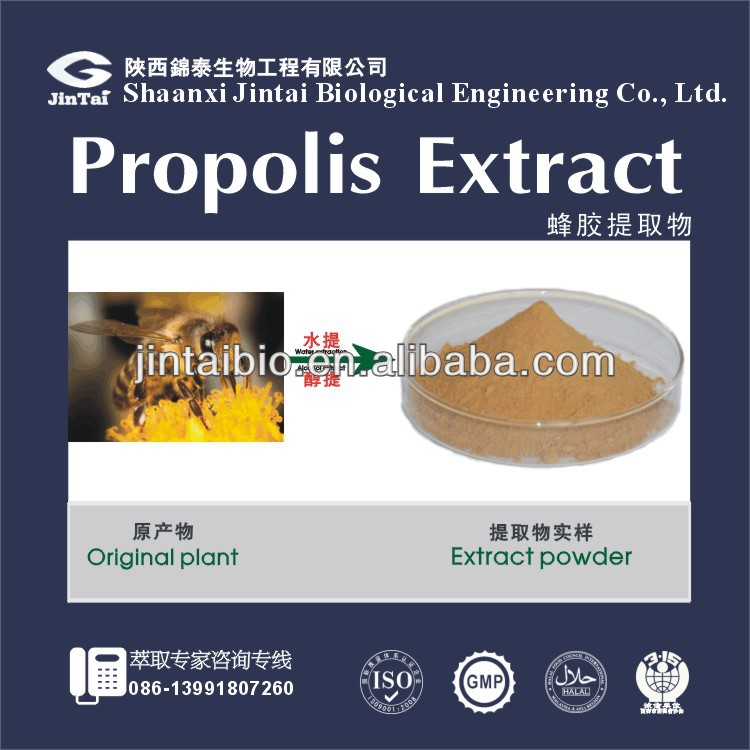 Professional production organic propolis extract
