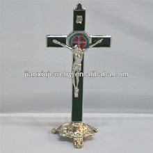 8 inches Enamel Standing Crucifix cross