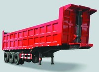 Best Selling Dump Semi Trailers/Rear Tipper Trailer