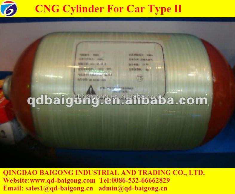 Bulk Cylinder Storage Compressed Natural Gas Car Use Type 2 CNG Container