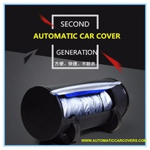 Automatic Car Cover Anti Snow Frost Ice Shield Dust Protector Heat Sun Shade Car half Cover