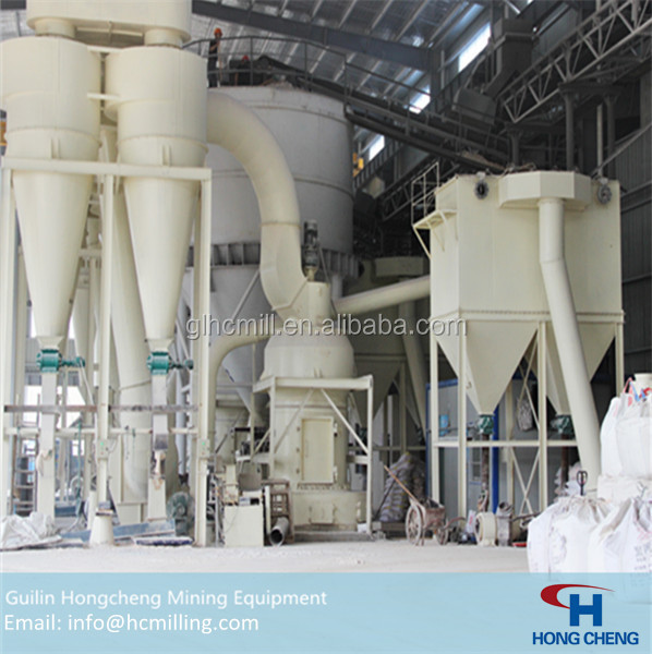 Rough mineral stone crusher and grinder machine quipment