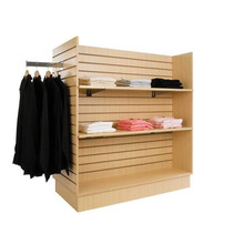 retail store mdf garment stand display for adult and child clothes