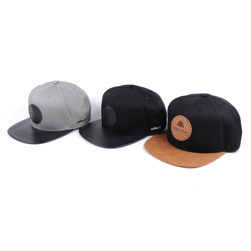 Custom Plain Flat Bill Snapback Hats Bulk  8ab65edbe92