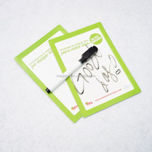 mini magnetic writing board with a erasable pen for kids